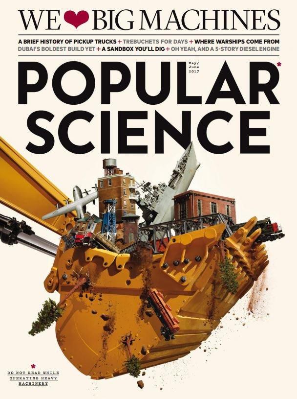 Popular Science USA May June 2017 PDF download free