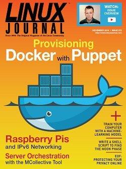 Linux Journal – December 2016