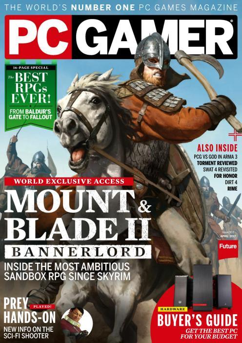 PC Gamer UK – April 2017