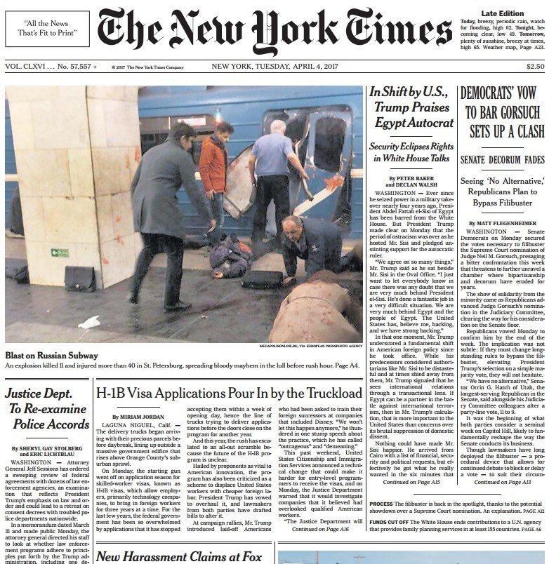 The New York Times April 4 2017 Pdf Download Free