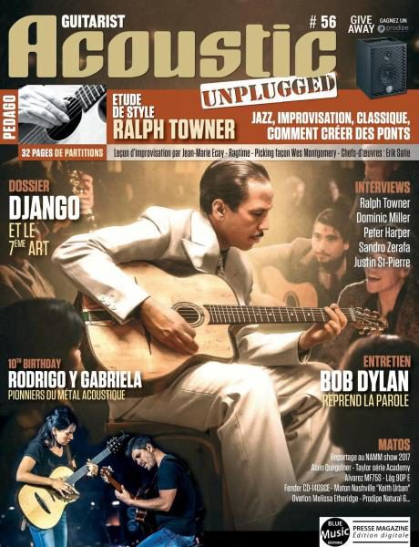 Download Guitarist Acoustic — Numero 56 2017