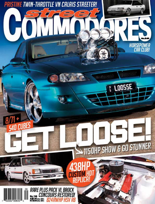Street Commodores 246 – 2015 AU