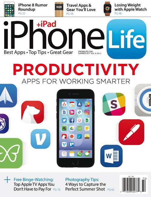 Download iPhone Life Magazine Summer 2017