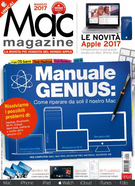 Download Mac Magazine N.103 — Maggio 2017