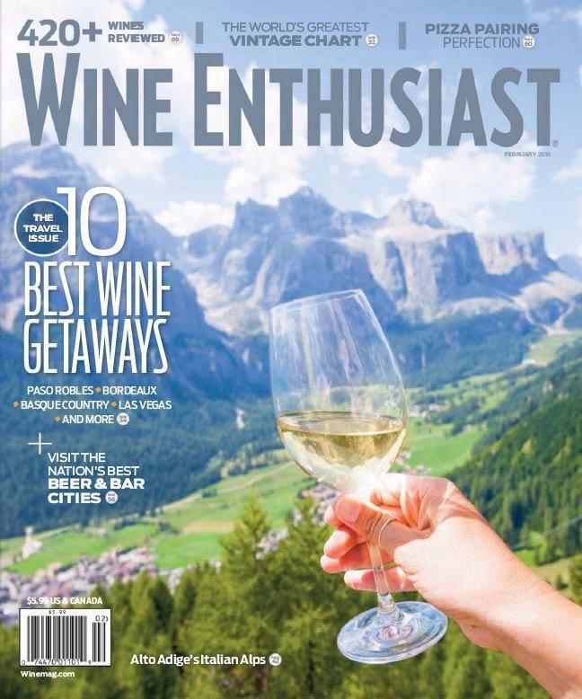 Wine Enthusiast – February 2016