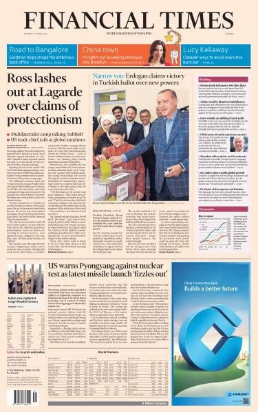 Download Financial Times Europe 17 April 2017