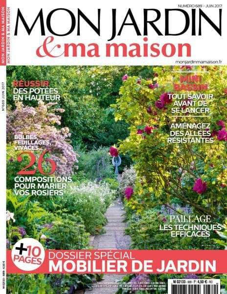 Mon jardin ma maison juin 2017 pdf download free for Magazine maison jardin