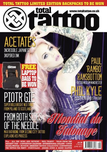 Download Total Tattoo — Issue 152 — June 2017