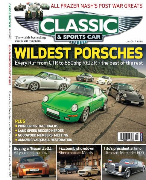 Classic Sports Car UK June PDF Download Free - Classic and sportscar magazine