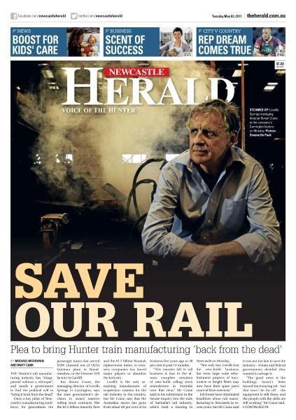 Newcastle Herald eEdition by Fairfax Media Publications