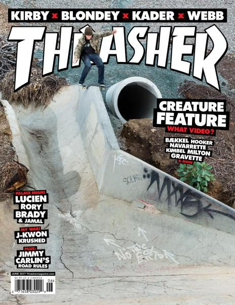 Thrasher Skateboard Magazine was born in and we are stoked that it is still on our counter 34 years later! Jake Phelps has captained this ship for many years and is still doing a great job. When the Thrasher Vacation blew through town last year it was a pleasure to have Phelps and co visit our store and a blessing from the skateboarding gods to see Grant Taylor fly around Victoria Park.