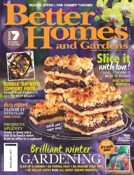 Better homes and gardens australia august 2017 pdf Bhg australia
