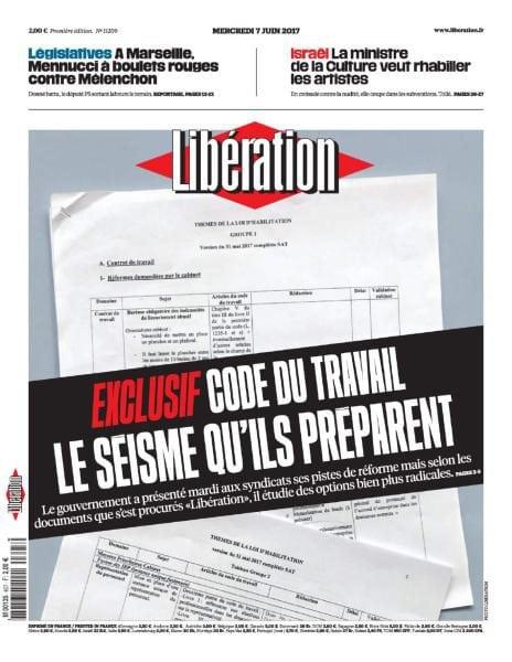 Liberation Du Mercredi 7 Juin 2017