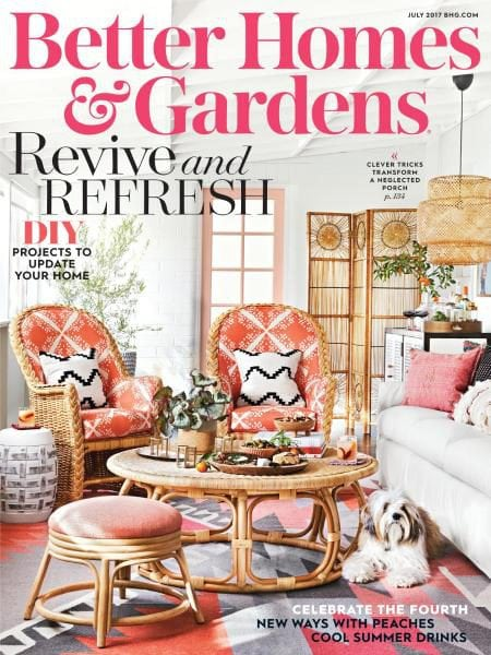 Captivating Better Homes And Gardens USA U2014 July 2017