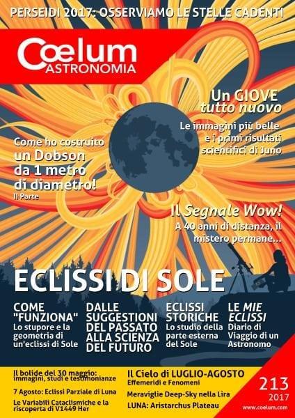 Download Coelum Astronomia – Numero 213 2017