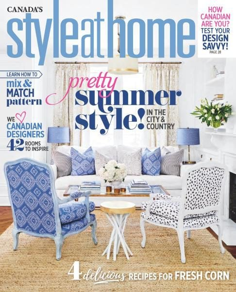 Style At Home Canada July 2017 PDF Download Free