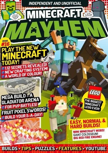 Minecraft mayhem issue 16 2017 pdf download free