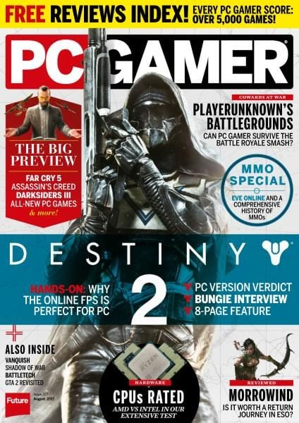 PC Gamer UK — Issue 307 — August 2017 PDF download free