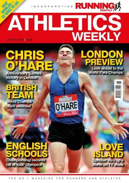 Download Athletics Weekly — July 13, 2017