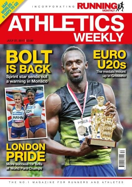 Download Athletics Weekly — Julн 27, 2017
