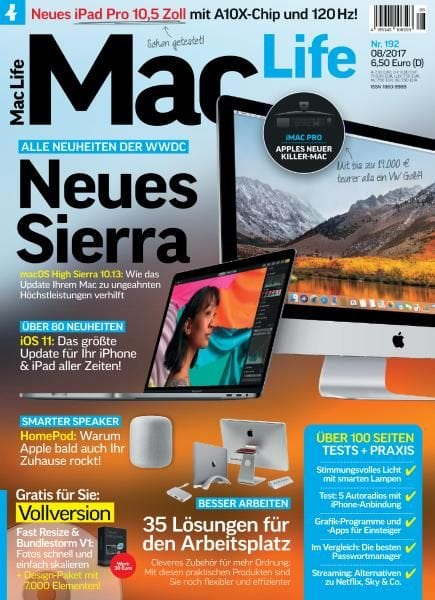 Download Mac Life Germany – August 2017