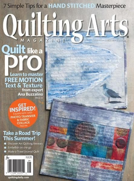 Quilting Arts Magazine back issue - Fall, 2005, Issue 19