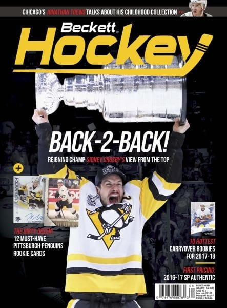 Beckett Hockey — August 2017 PDF download free