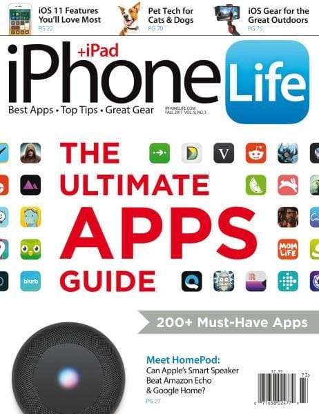Download iPhone Life Magazine — Fall 2017
