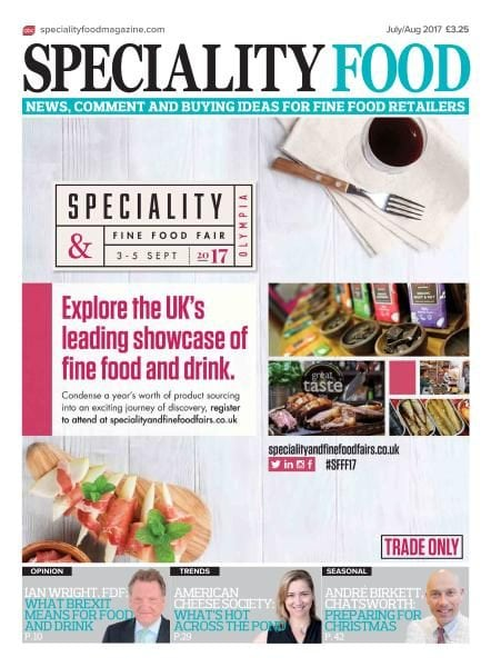 Download Speciality Food — July-August 2017