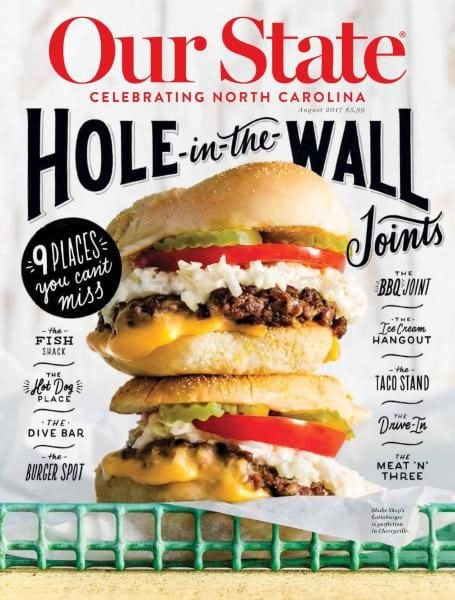 Download Our State — Celebrating North Carolina — August 2017
