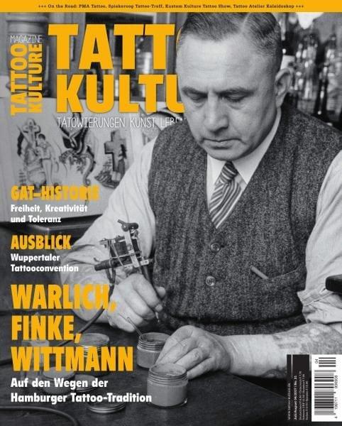 Download Tattoo Kulture Magazine — Juli-August 2017