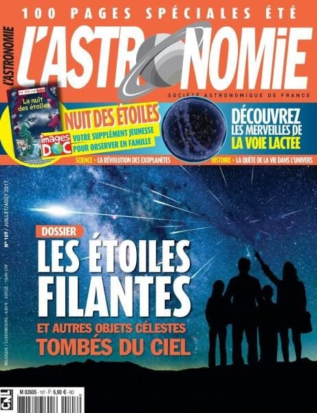 Download L'Astronomie N.107 — Juillet-Août 2017