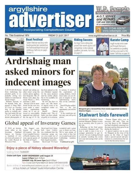 Download Argyllshire Advertiser — 21 July 2017