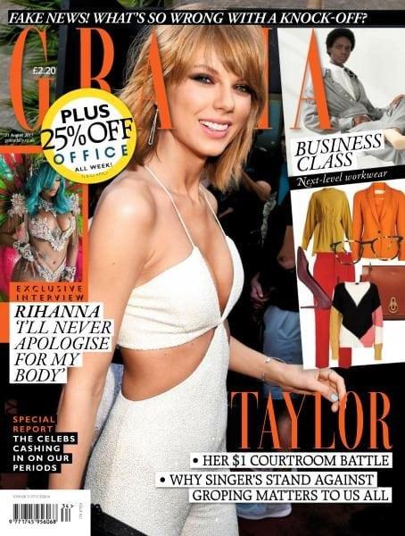 Download Grazia UK — Issue 641 — 21 August 2017