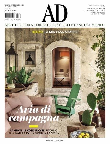 Ad Architectural Digest Italia Settembre 2017 Pdf