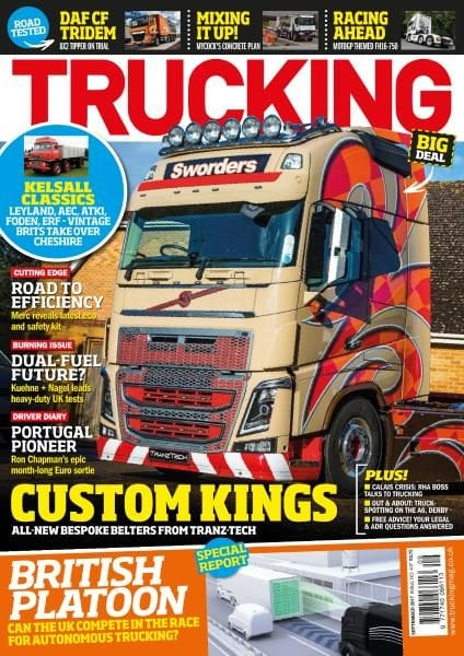 Download Trucking Magazine — Issue 407 — September 2017