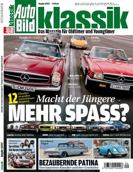 Download Auto Bild Klassik — September 2017