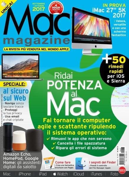 Download Mac Magazine N.107 — Settembre-Ottobre 2017