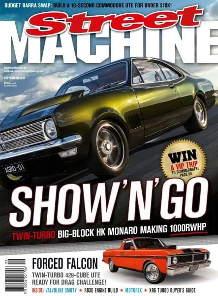 Download Street Machine Australia — September 2017