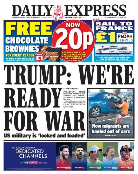 Download Daily Express — 12 August 2017