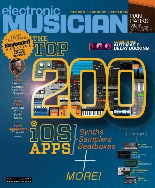 Download Electronic Musician — September 2017