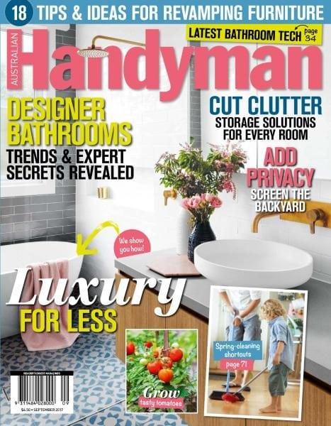 Download Australian Handyman — September 2017