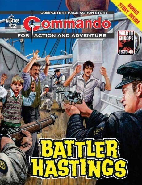 Download Commando 4705 — Battler Hastings