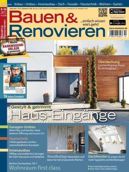 bauen und renovieren september oktober 2017 pdf download free. Black Bedroom Furniture Sets. Home Design Ideas