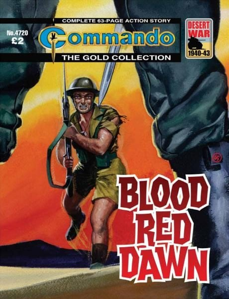 Download Commando 4720 — Blood Red Dawn
