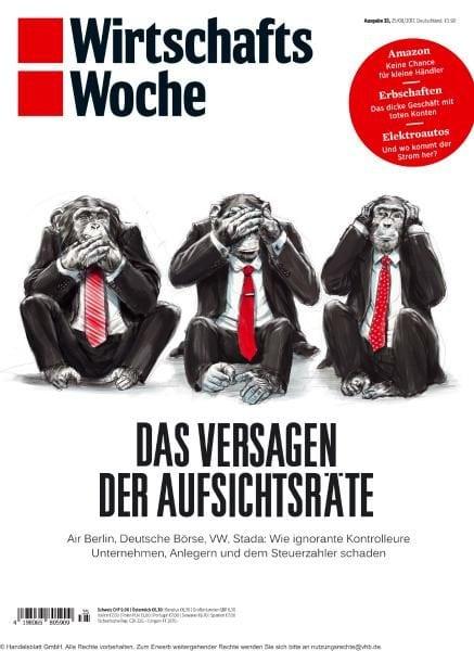 Download Wirtschaftswoche — 25 August 2017