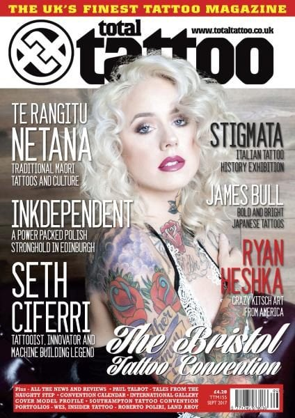 Download Total Tattoo — Issue 155 — September 2017