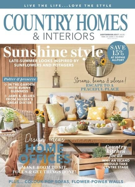 Country homes interiors september 2017 pdf download free for Home and interiors magazine