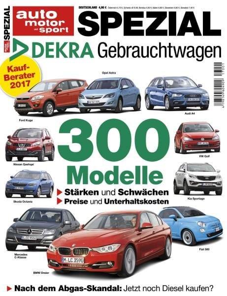 Download Auto Motor und Sport Spezial — Gebrauchtwagen-Report 2017