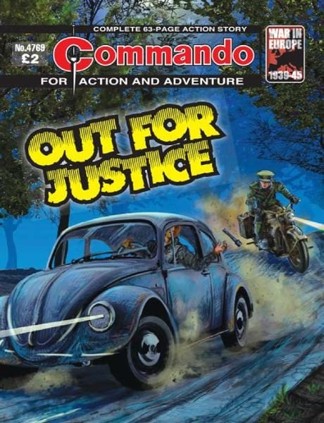 Download Commando 4769 — Out for Justice